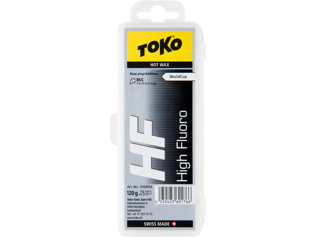 Toko HF Hot Wax 120g, black